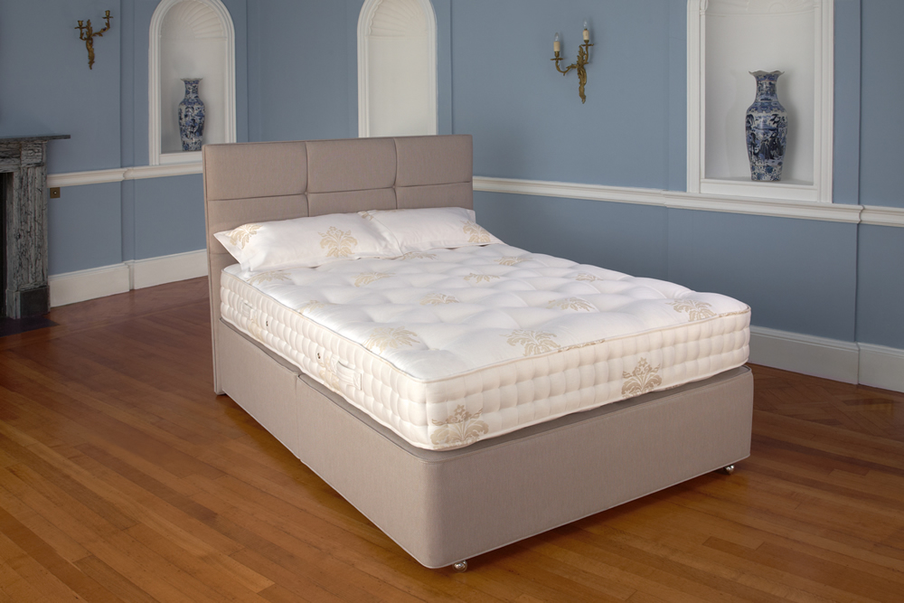 Relyon divan beds for Double divan bed no mattress