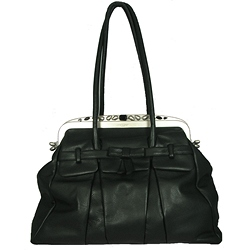 This genuine leather evening bag is the ideal signature piece for your wardrobe, with its chic and s - CLICK FOR MORE INFORMATION