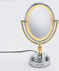 Revlon Deluxe Oval Lighted Mirror Health And Beauty