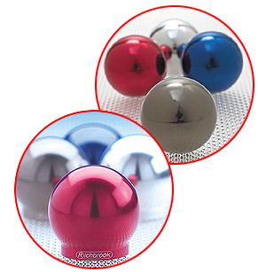 Richbrook Ball Gear Knob Made from anodised staybrite aluminium - CLICK FOR MORE INFORMATION