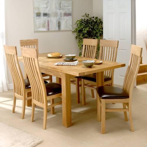 Delightful Modern Oak Dining Room Sets