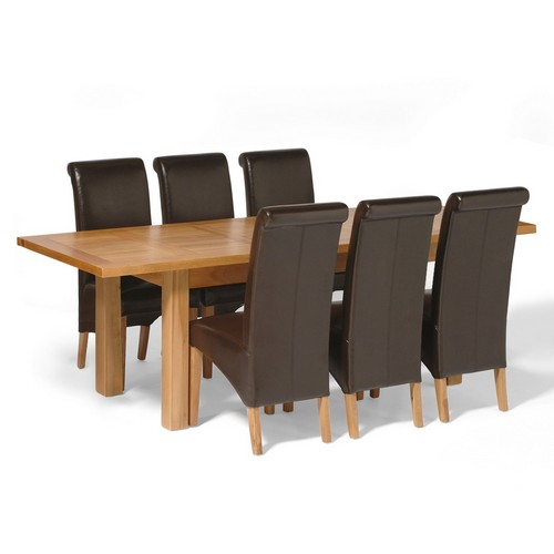 Brilliant richmond oak large dining set with 6 leather richmond oak 500 x 500 · 24 kB · jpeg