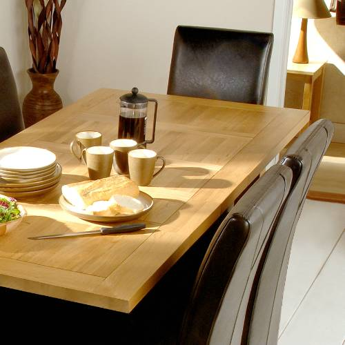 Richmond Oak Small Dining Set with 6 Chairs product image