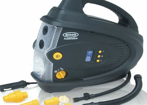 12V Digital Air Compressor with Inflator