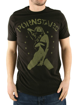 Ringspun Black All Stars Porno T-Shirt product image