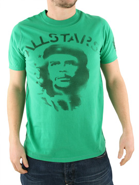 Ringspun Green All Stars Rebel T-Shirt product image