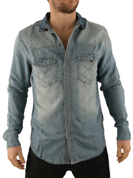 Ringspun Light Denim Mingo Shirt product image