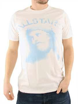 Ringspun White All Stars Almighty T-Shirt product image