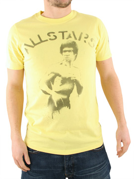 Ringspun Yellow All Stars Enter The Dragon T-Shirt product image