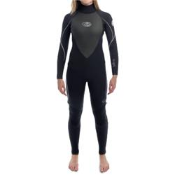Womens G Bomb 5.3 Wetsuit - Blk.Silv.Pu