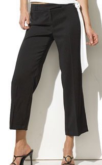 formal cropped pants