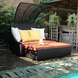Riviera Day Bed Cappuccino