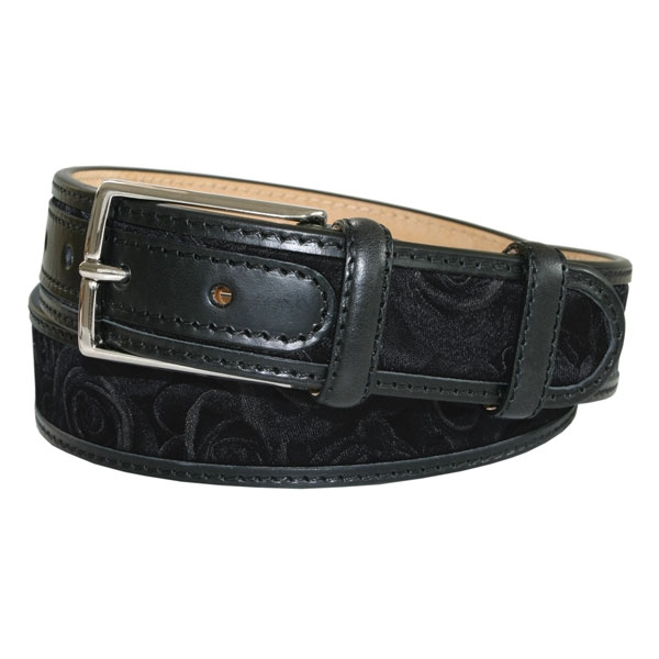 Robert Charles Black Rose Leather Belt by product image