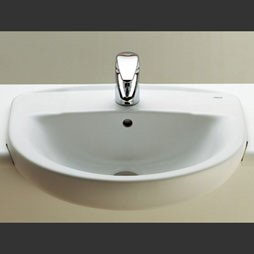 Laura Semi-Recessed Basin (Single Tap Hole)