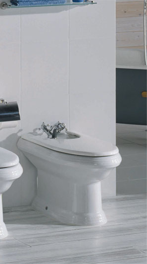 New Classical Bidet with lid