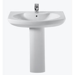 Senso Pedestal Basin (650mm Single tap-hole)