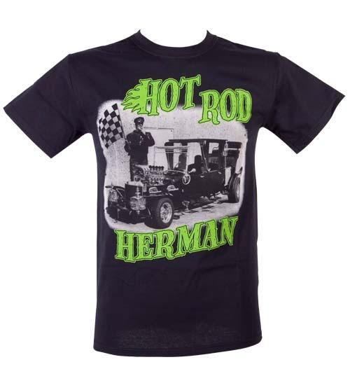 Mens The Munsters Hot Rod Herman T-Shirt