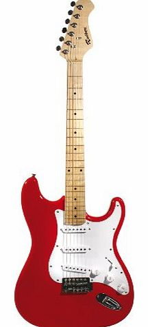 rockburn st style electric guitar red review compare prices buy online. Black Bedroom Furniture Sets. Home Design Ideas