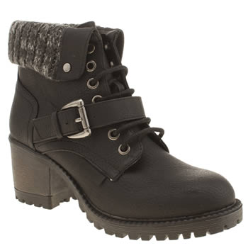rocket dog Black Brave Boots