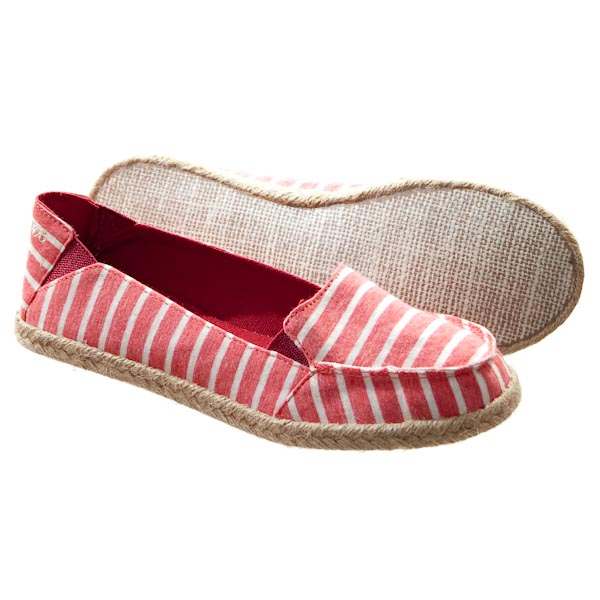 Shoes - Clover - Red Super Stripe