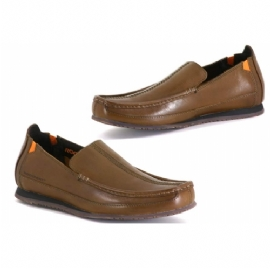 Mens Brown Loafer ShoeDynamic Suspension DMX soleLeather Uppers - CLICK FOR MORE INFORMATION