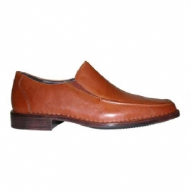 Mens Elasticated Slip-OnFull Leather Upper with Man-Made Sole`Kinetic Air Circulation` Technology - CLICK FOR MORE INFORMATION