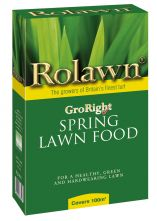 Rolawn GroRight Spring Lawn Food