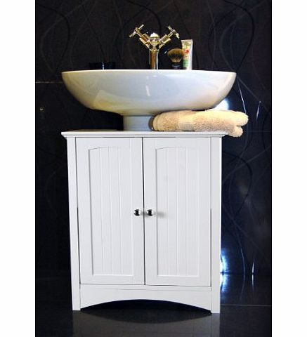 roman at home white under sink bathroom storage cabinet review