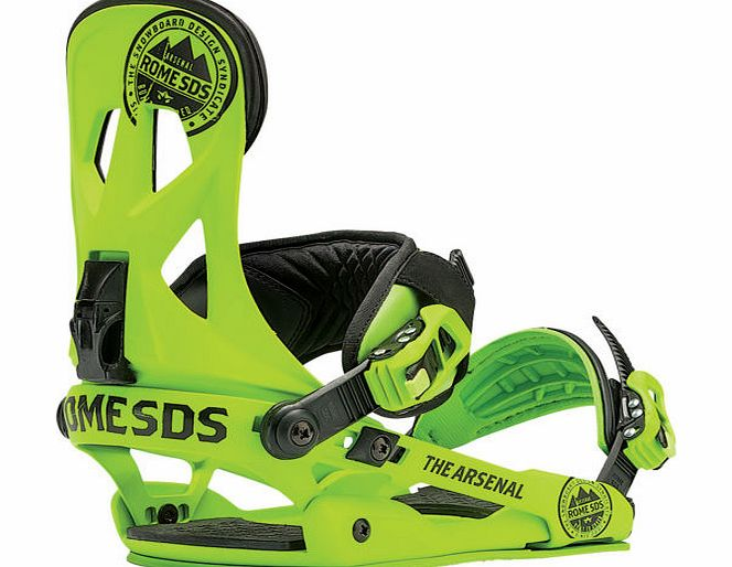 Rome Mens Rome Arsenal Snowboard Bindings Green - product image