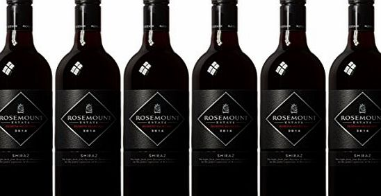 Rosemount Estate Diamond Selection Shiraz 2014/2015 Wine 75 cl (Case of 6)