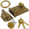 Satin Cylinder Door Lock