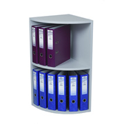 2-Tier Corner Lever Arch File Unit
