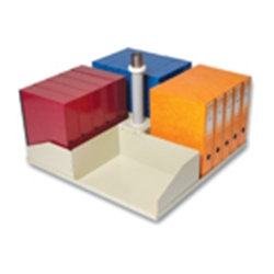 Platfile Square Platform Holds 20 Box