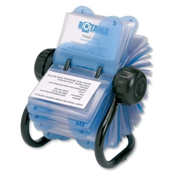 Rotamate Rotary Business Card File with