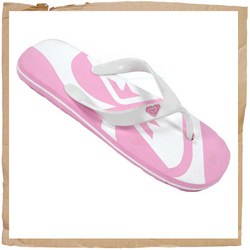 Roxy Corp Flip Flop Synthetic Strap Roxy Detail Foam Footbed Roxy Branding On Footbed Rubber Sole - CLICK FOR MORE INFORMATION