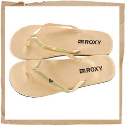 Roxy Dina Flip Flops Sponge EVA Sole and Midsole for Excellent Cushioning Roxy Embroided Emby - CLICK FOR MORE INFORMATION