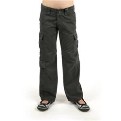 roxy Jnr Shout Pants - Flat Black