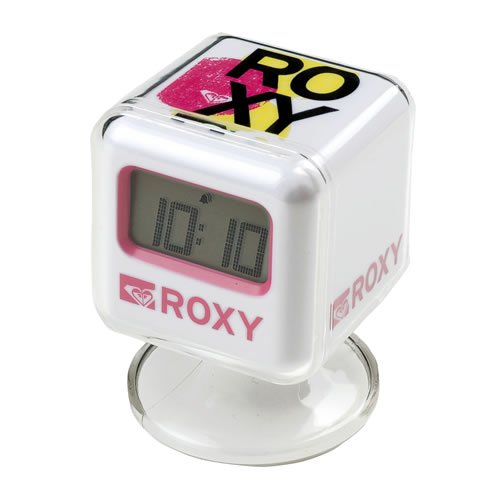 Ladies Roxy Digital Alarm Clock Pnk