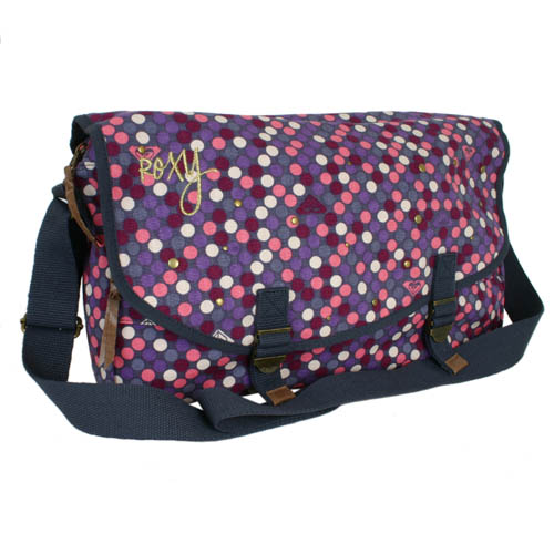 The Spot Light bag is a brand new canvas shoulder bag from Roxy.  Great fun summery bag  perfect fo - CLICK FOR MORE INFORMATION