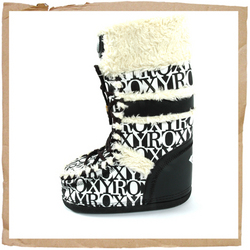 Roxy Moonlight Boot  Nylon Upper  Nylon Lining With Fake Fur Collar  - CLICK FOR MORE INFORMATION