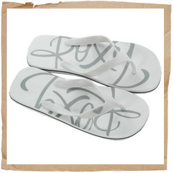 Roxy Romance Flip Flop Soft Rubber Strap Multi Density EVA Sole Screen Printed EVA Footbed Roxy Emby - CLICK FOR MORE INFORMATION