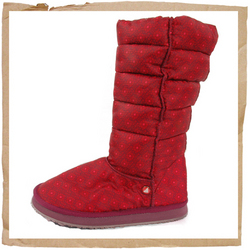 Roxy Shasta Boot  Printed Rip-stop Nylon Uppers   Puffer Shaft   Fake Fur Lined   EVA Outsole   Wate - CLICK FOR MORE INFORMATION