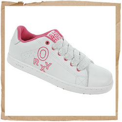Roxy State Skate Shoe  Action Leather Upper   Synthetic Sole  Rubber Outsole  Roxy Embroidery - CLICK FOR MORE INFORMATION