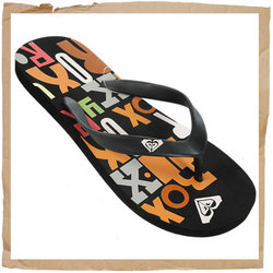 Roxy Zuma Flip Flop  Synthetic Strap w/ Roxy Detail  Foam Footbed  Rubber Sole - CLICK FOR MORE INFORMATION