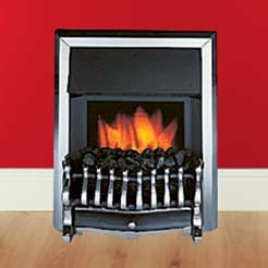 Slimline Electric Fire With Remote Control