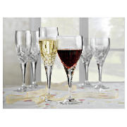 Royal Doulton Dorchester Cut Crystal Wine Glasses