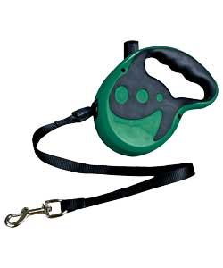 Retractable Dog Lead - Green