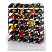 42 bottle wine rack, Dark Oak