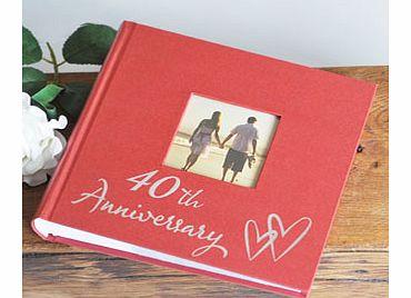 Ruby Wedding Gift Ideas John Lewis : RUBY 40th Wedding Anniversary x80 4 6 Photo