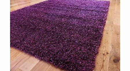 RUGS 4 HOME EXTRA LARGE PURPLE MEDIUM NEW MODERN SOFT THICK SHAGGY RUGS NON SHED RUNNER MATS 120 X 170 CM (4 FT X 5 FT 7)FREE UK MAINLAND DELIVERY product image